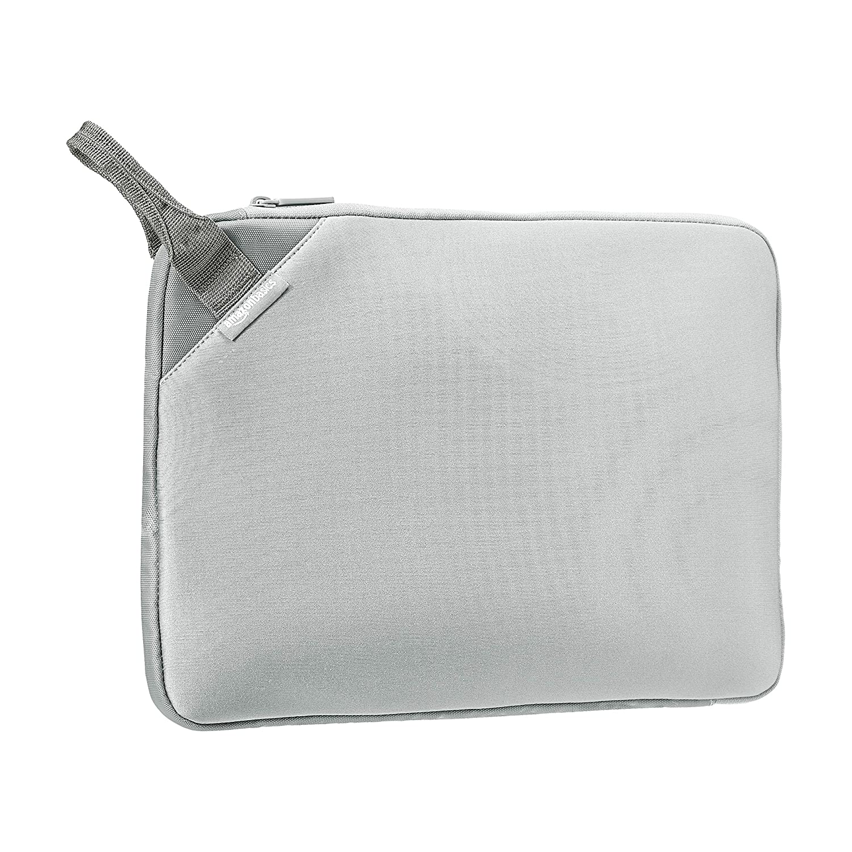 "AmazonBasics 15.6"" Executive Laptop Sleeve (With Handle) - Grey"