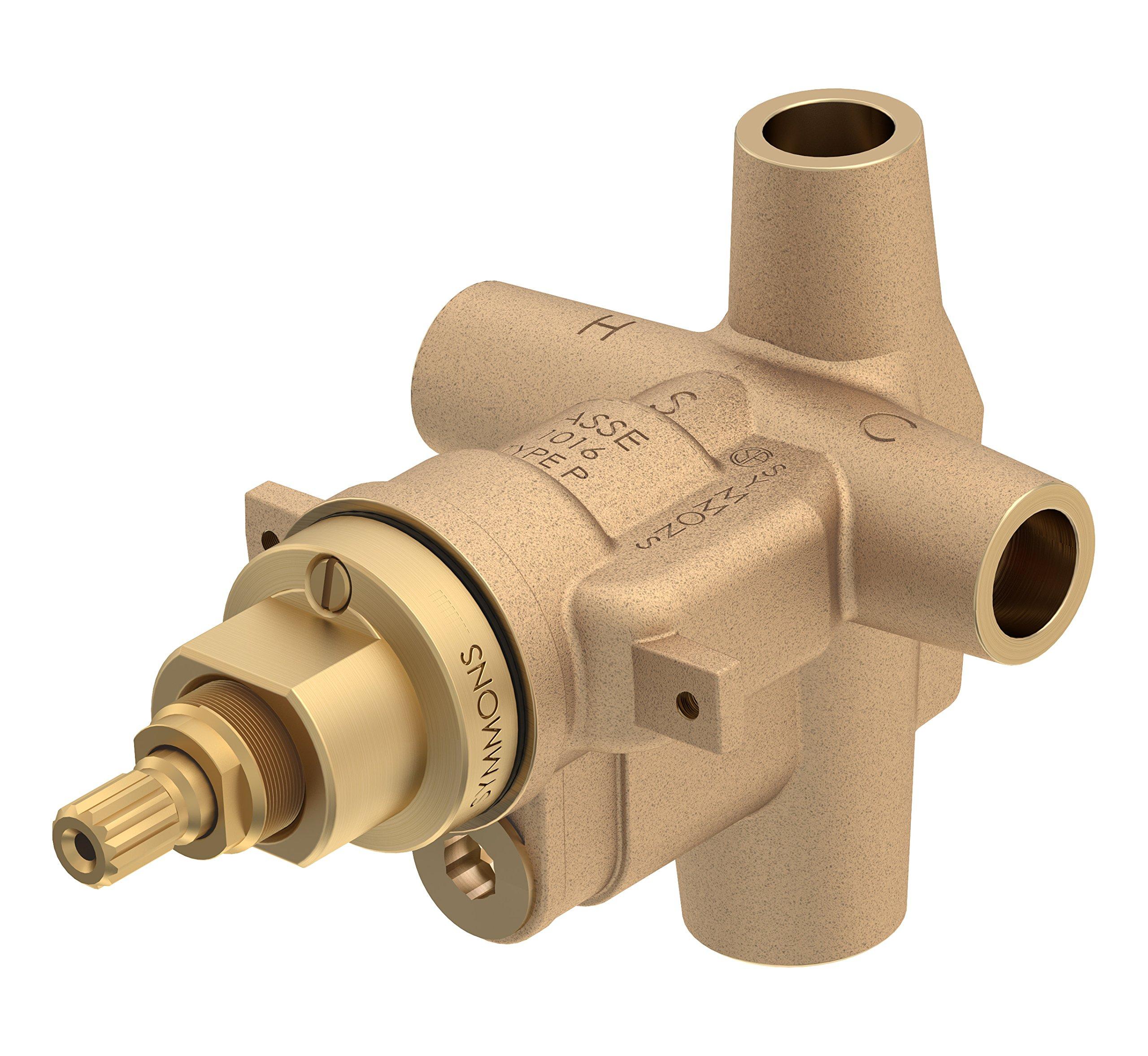 Symmons S-46-1-BODY Temptrol Pressure Balancing Shower Valve Body with Volume Control
