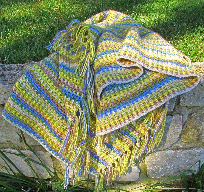 Spring Woodland Blanket Crochet Kit The Perfect Crochet Gift For