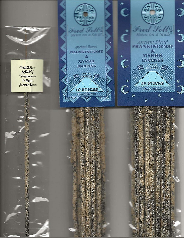 FRED SOLL'S 樹脂 スティック 乳香&ミルラ 古代のブレンド B07KND9B9J  1