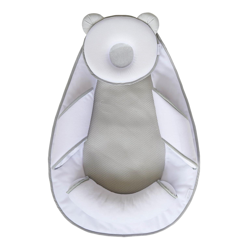 Candide Air+ Panda Pad - Colchoneta antivuelco, color blanco y gris Plasti Temple 274690.0