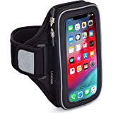 Sporteer Velocity V8 Running Armband - iPhone 12 Pro Max, 11 Pro Max, Xs Max, iPhone 11, XR, 8 Plus, Galaxy S20+, S10…
