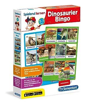 Clementoni 96094 spielend Aprendizaje - Bingo de Dinosaurio ...