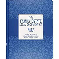 My Family Estate Legal Document Kit (includes Last Will and Testament, Health Care Proxy, and Legal Power of Attorney)