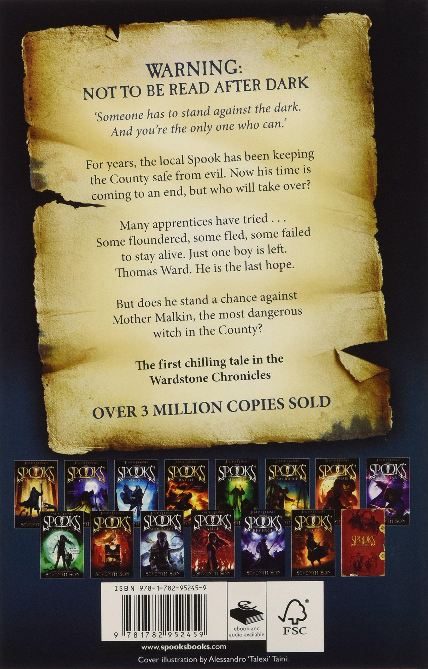 The Spook's Apprentice: Joseph Delaney: 9781782952459: Amazon: Books