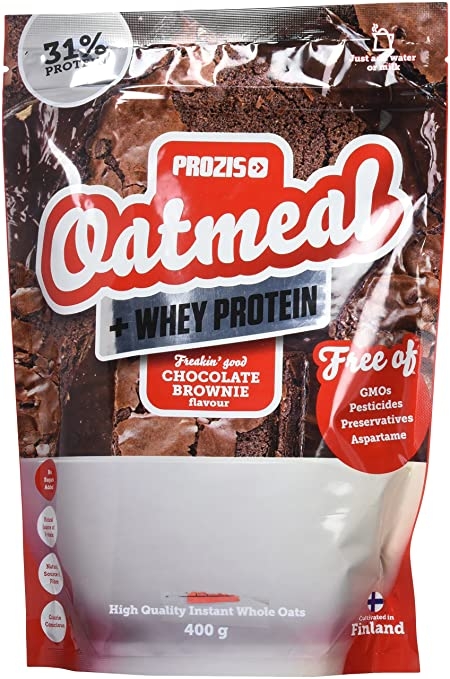Prozis Oatmeal, Chocolate Brownie - 400 gr