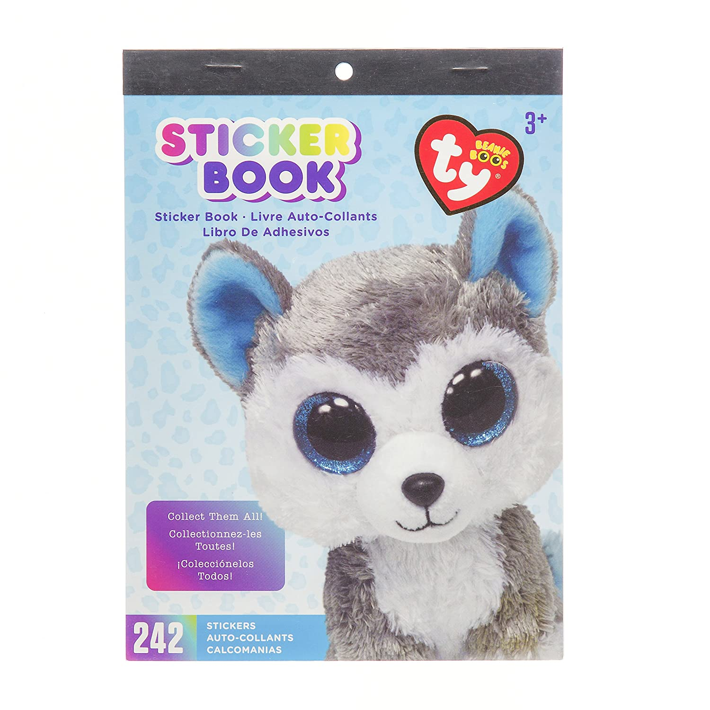 4b94da5fad5 Darice beanie boo slush husky sticker book jpg 1500x1500 Beanie boo ferret