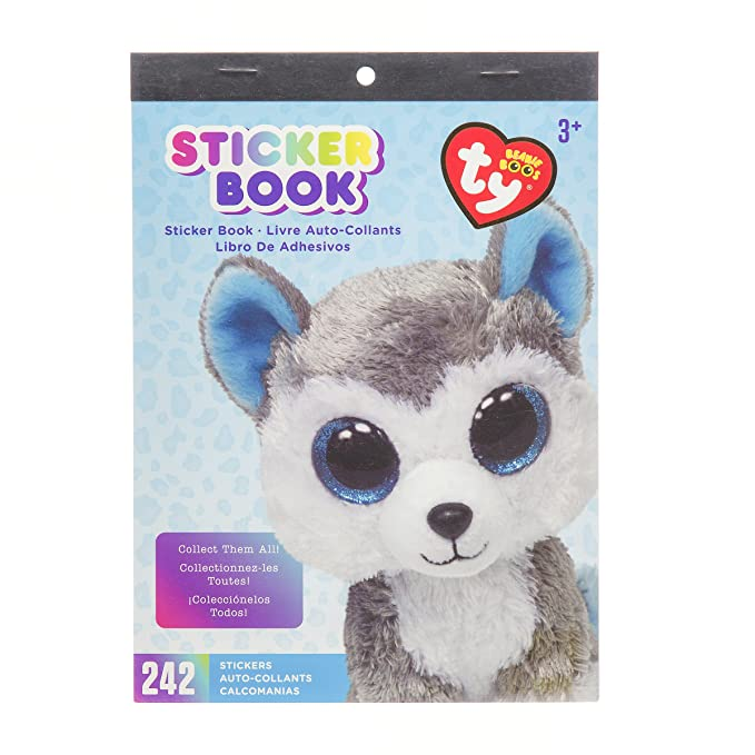 Amazon.com: Darice TY Beanie Boo Slush Husky Sticker Book