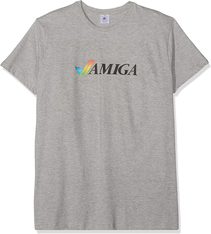 Texlab Classic Amiga - Camiseta para Hombre, Talla XXL, Color Gris Jaspeado: Amazon.es: Ropa y accesorios