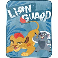 """Disney Lion Guard All for One Twin 62"""" x 90"""" Plush Blanket"""