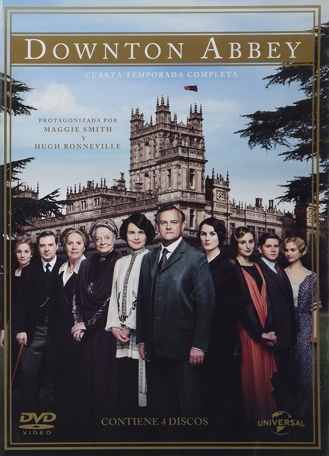 Amazon.com: Downton Abbey Temporada 4 Español Latino: Movies & TV