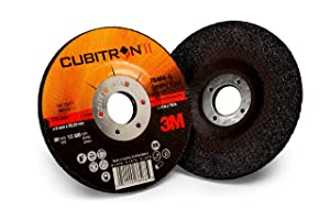 3M Cubitron II Depressed Center Grinding Wheel, (78466-Q), T27, 4-1/2 in x 1/4 in x 7/8 in