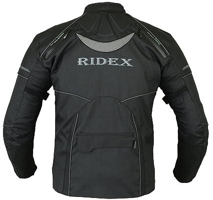 77caa887644 RIDEX para Hombre CJ3 Chaqueta Impermeable y Resistente al Viento para Moto  Motocicletas/Agua para ejercitar la fassinas por de Mesa con: Amazon.es: Ropa  y ...
