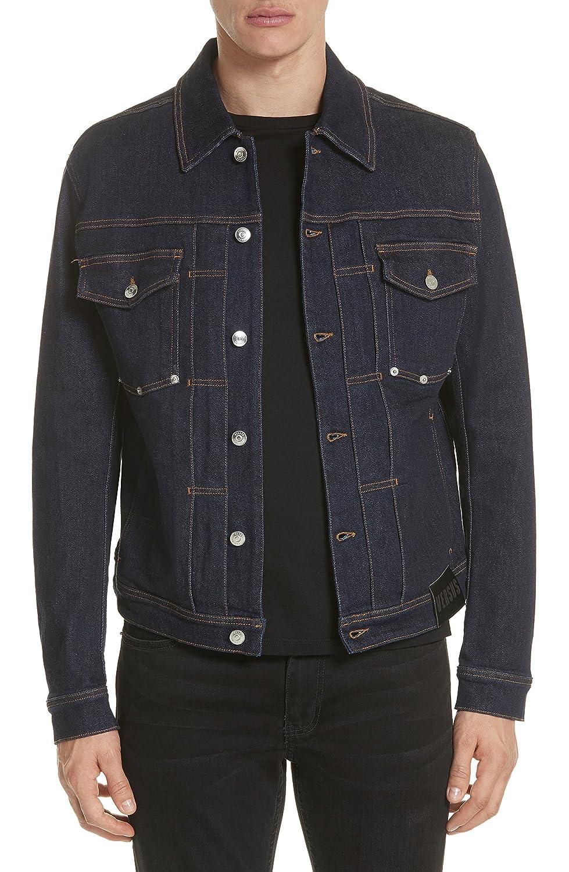 [ヴェルサス ヴェルサーチ] メンズ ジャケットブルゾン Versus Versace Denim Jacket [並行輸入品] B07D73QSSR 50_EU