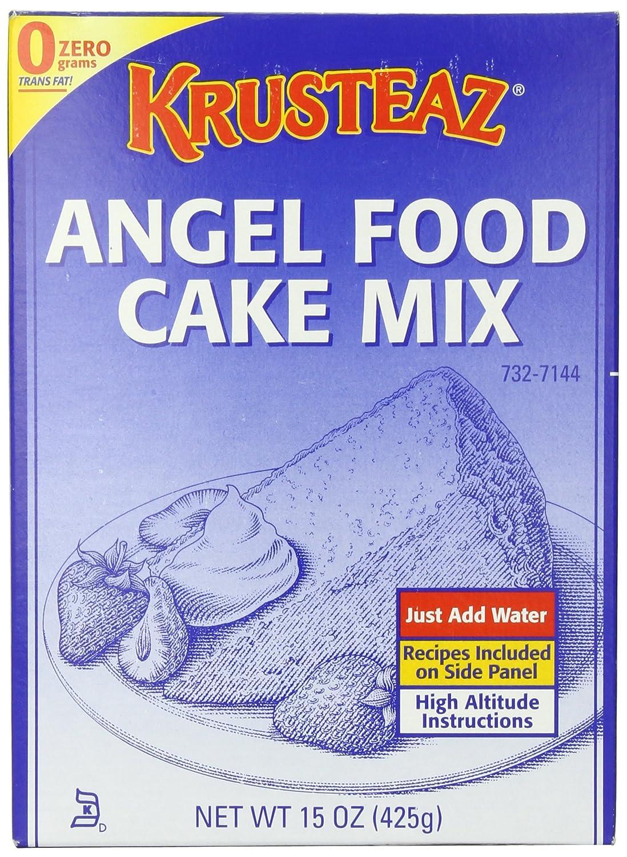 Amazon.com : Krusteaz Angel Food Cake Mix, 15 Ounce ...