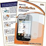 2x mumbi Displayschutzfolie Samsung Galaxy Y S5360 Displayschutz AntiReflex antireflektierend