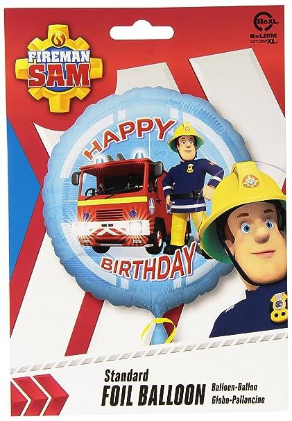 Amazon.com: Amscan International – Fireman Sam Hapy ...
