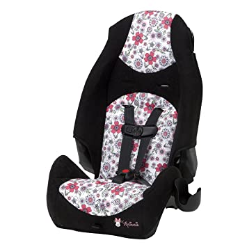 Amazon.com : Disney Baby Minnie Mouse Highback 2-in-1 Booster Car ...