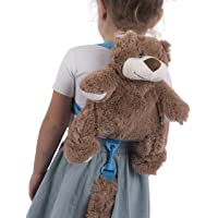 Animal Planet 2 in 1 Harness Backpack, Bear, Child Leash, Baby Walking Safety Harness, Kid Backpack with Tether, Toddler Travel, Wrist Leash