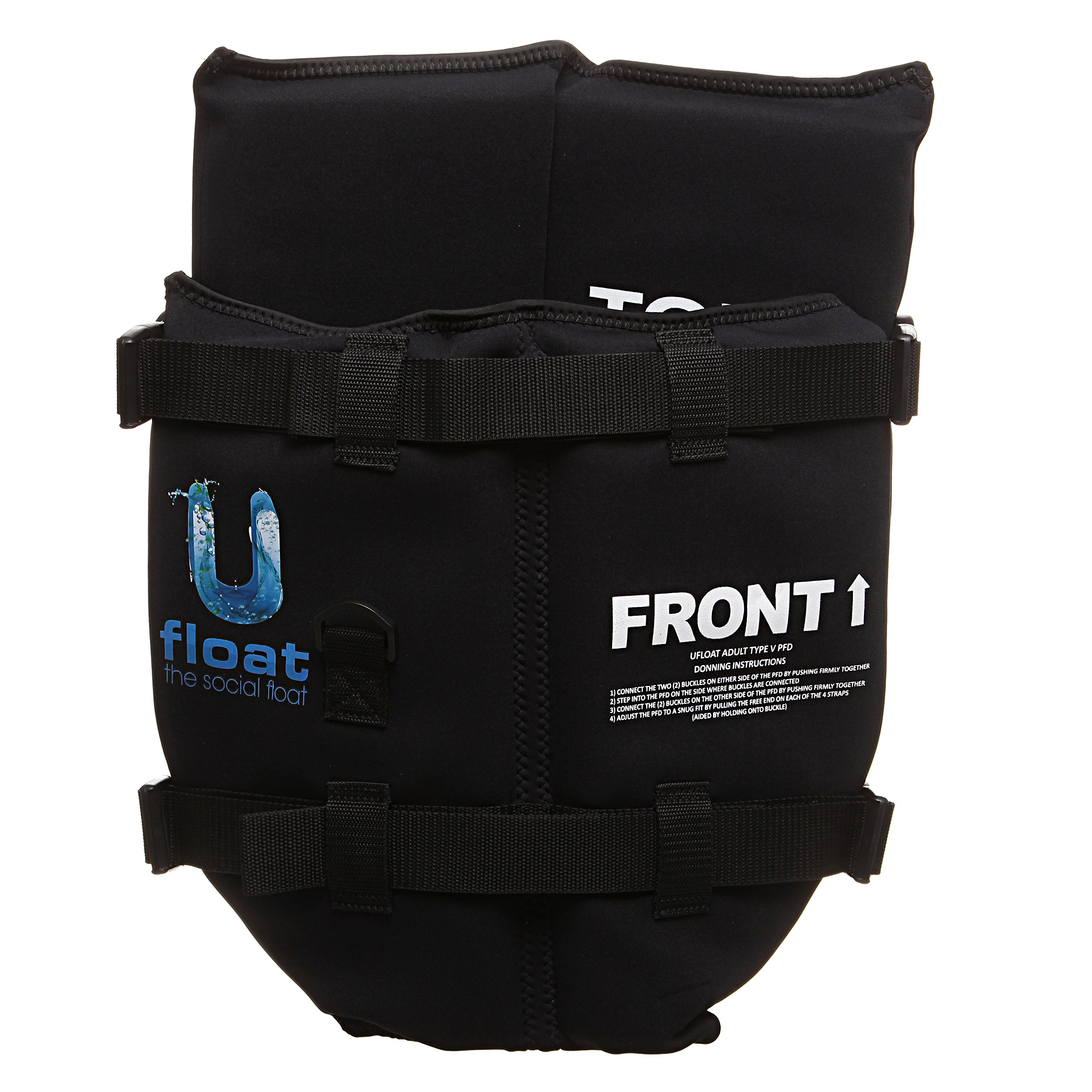 UFLOAT - USCG CERTIFIED PFD ('Upside Down' Life Jacket).The best way to cool off and relax in the water. 'THE SOCIAL FLOAT'.