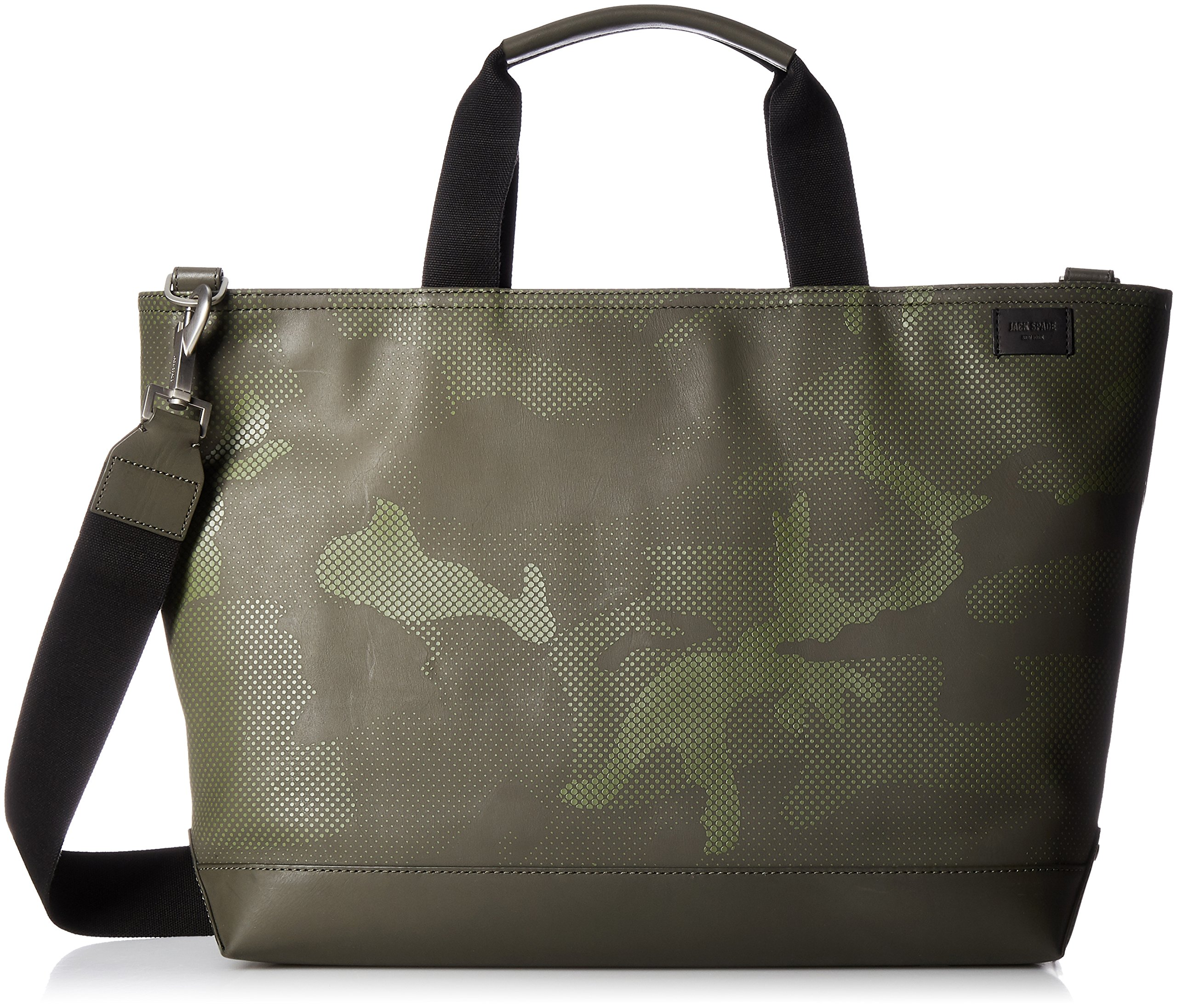 Jack Spade Men's Camo Dots Coal Bag, Army Green by Jack Spade (Image #1)