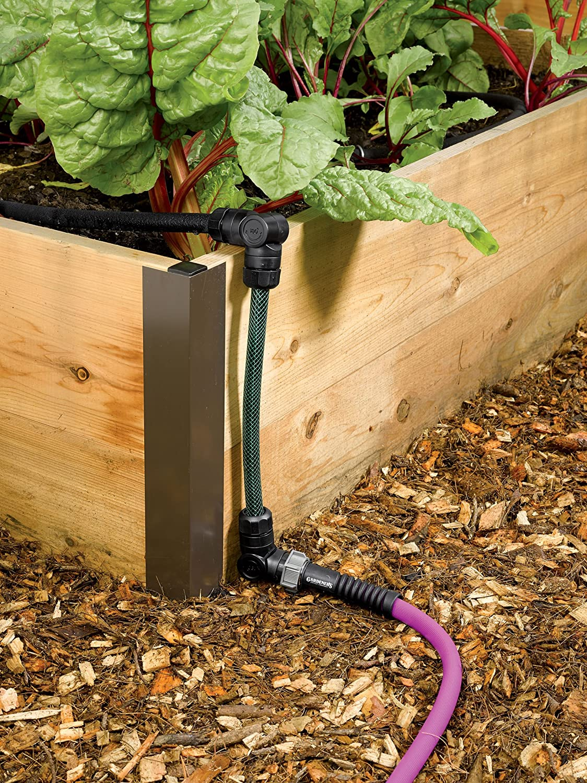 Amazon.com: Gardener\'s Supply Company Raised Bed Snip-n-Drip Soaker ...