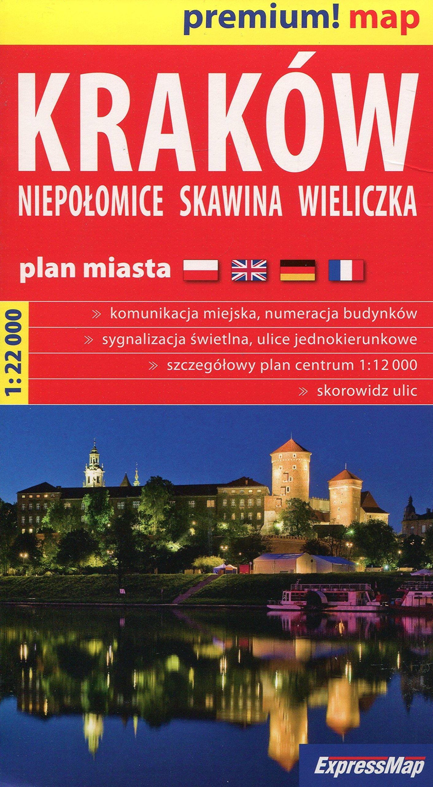 Krakow Niepolomice Skawina Wieliczka Mapa 1 22 000 Unknown