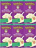 Annie's Homegrown Macaroni & Cheese - Shells & White Cheddar - 6 oz - 6 pk