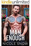 Man Enough: A Single Dad Romance (English Edition)