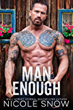 Man Enough: A Single Dad Romance (English Edition)
