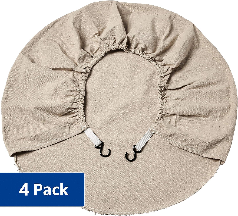 AmazonBasics - Fundas para ruedas, 70 cm - 78,8 cm, pack de 4