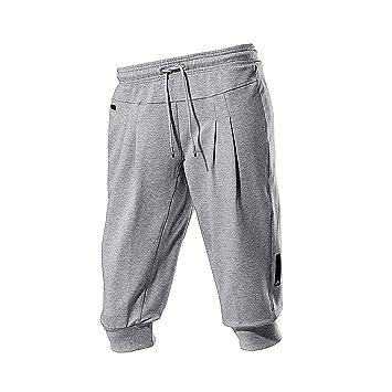 adidas Performance - Pantalones de chándal para, Gris, Large ...
