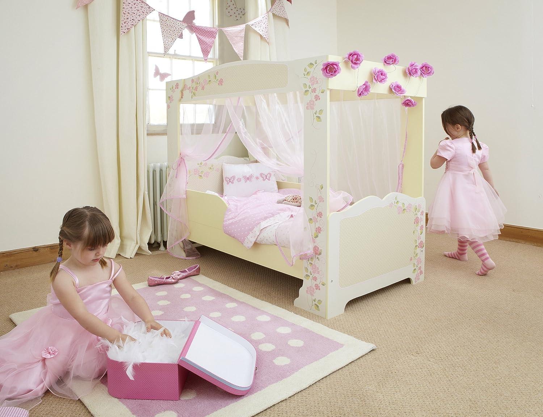 Worlds Apart 452FPS01 Kinder-Himmelbett mit Rosen: Amazon.de ...