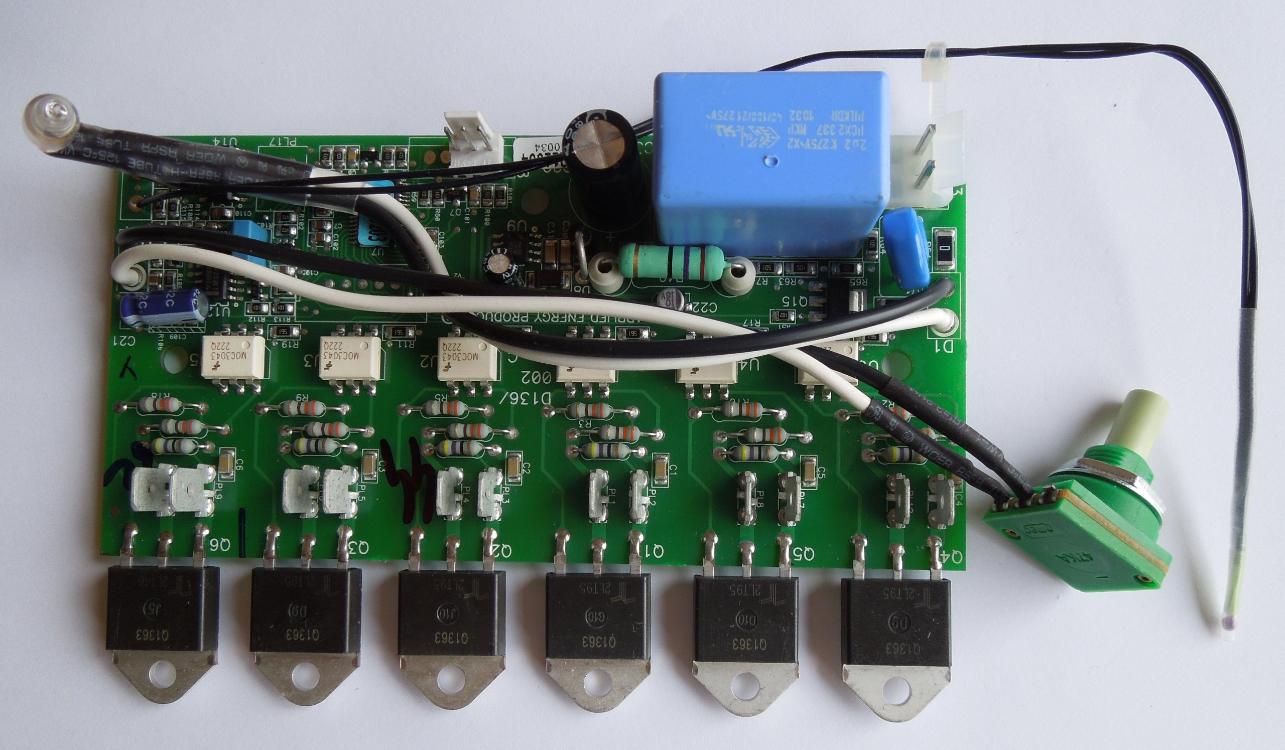 PowerStar AE125 PCB Control Board #93-793778 for Copper Can Units