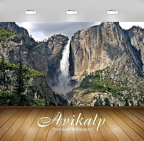 Buy Avikalp Exclusive Awi6761 Yosemite Falls Nature Full Hd