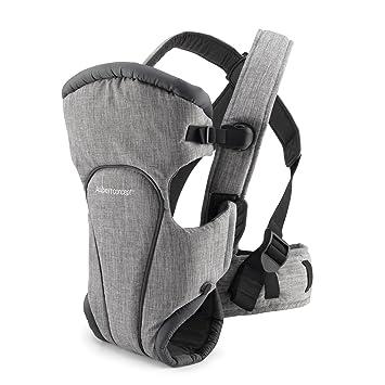 Porte-bébé Aubert Concept gris - portage ventral et dorsal  Amazon ... adc7af2030c
