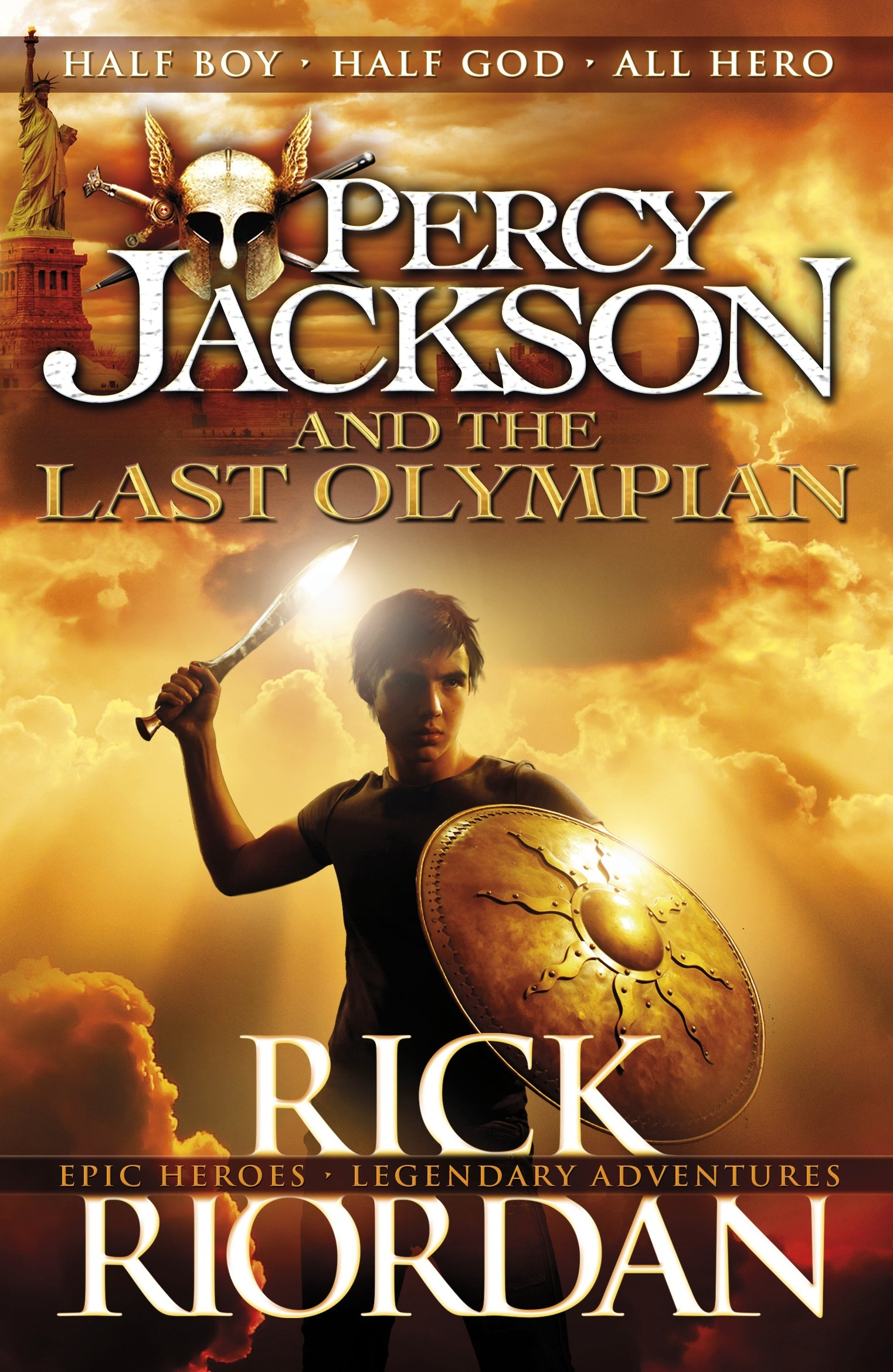 Percy Jackson and the Last Olympian (Book 5): Amazon.co.uk: Rick ...