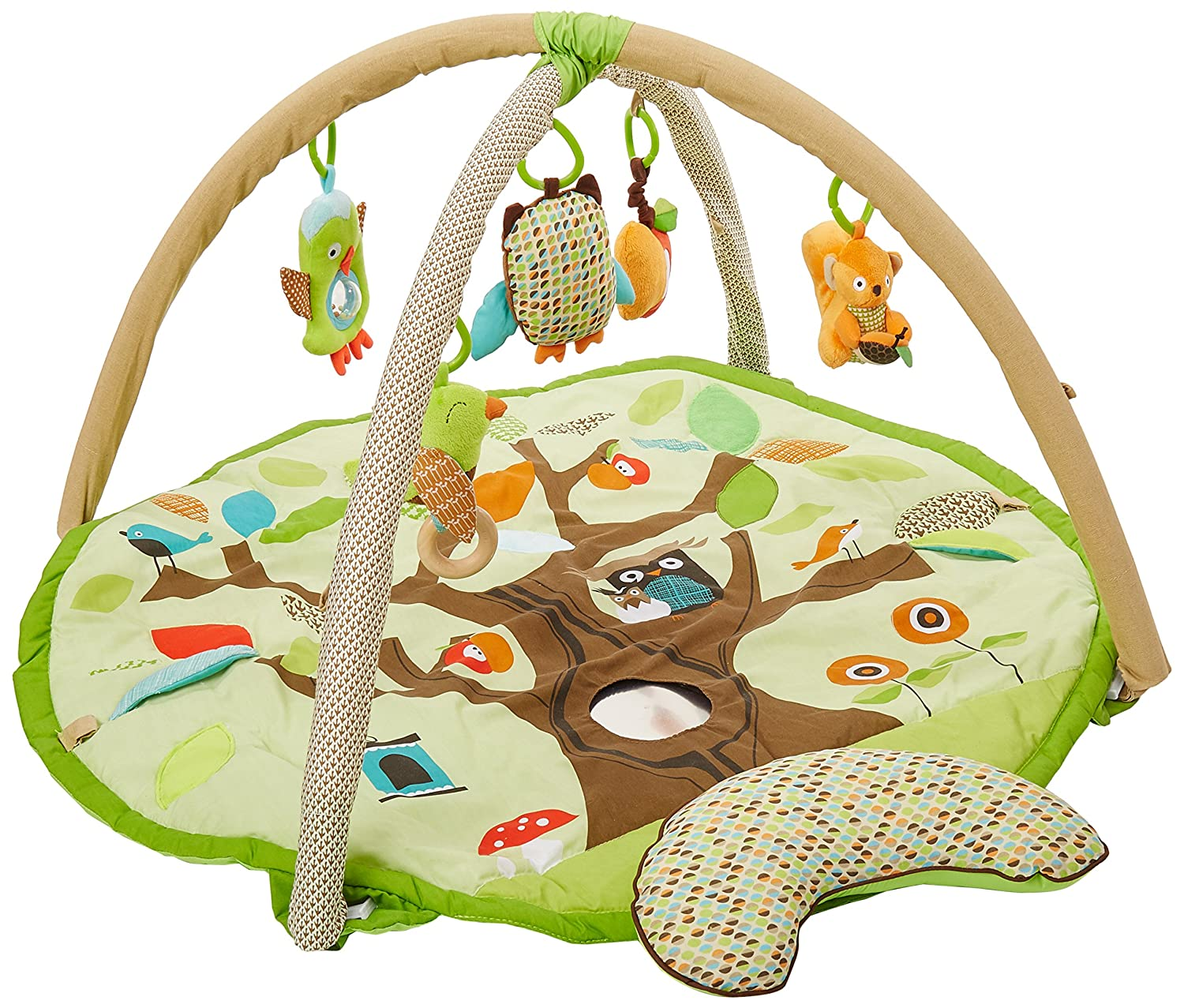 Baby Treetop Friends Activity Gym and Play Mat Image