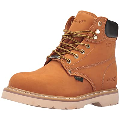 "AdTec 1982 6"" Steel Toe Tan Work Boot | Industrial & Construction Boots"