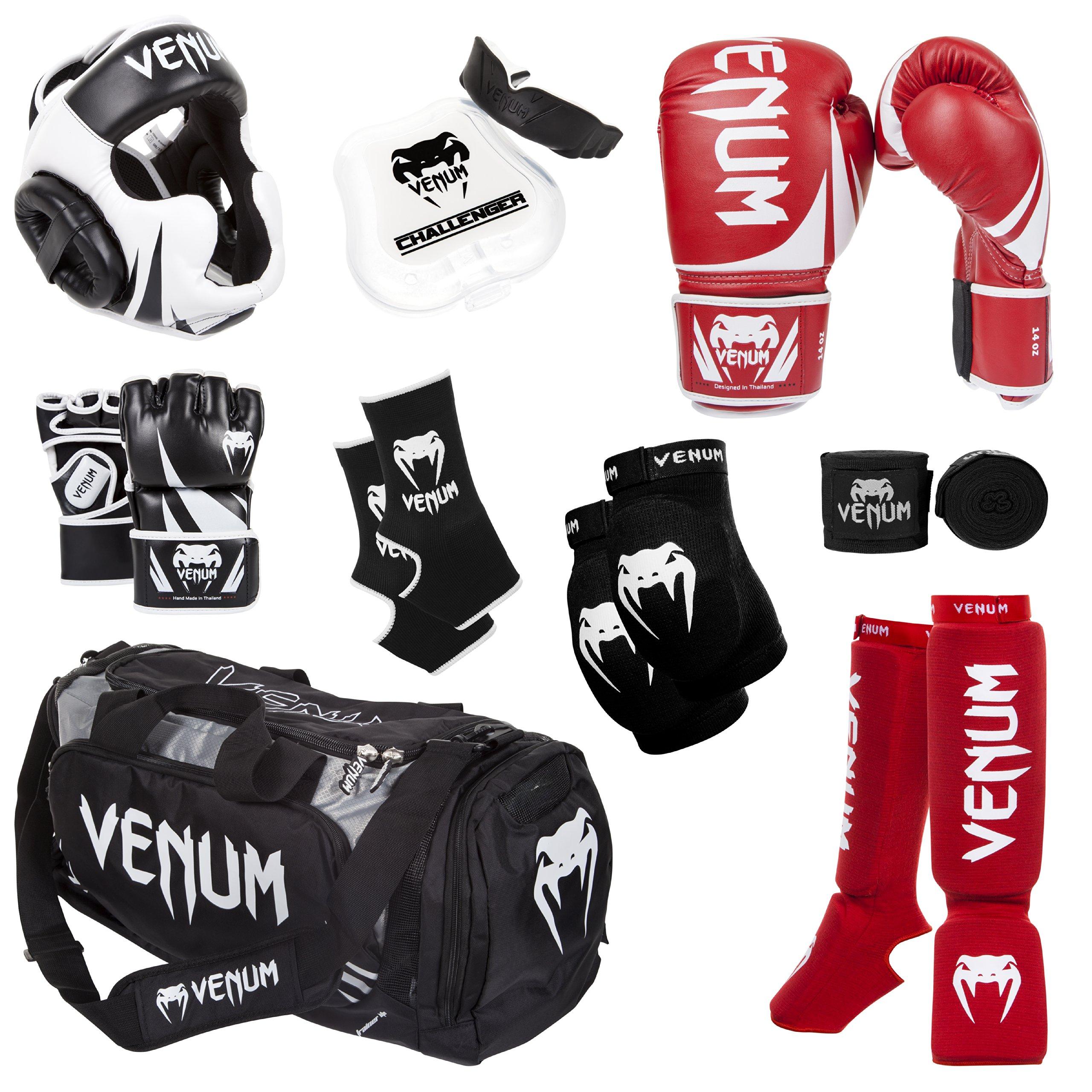 Venum Challenger 2.0 MMA Training Bundle, Red