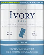 Ivory Original 10-Count: Personal Size Bars 90 g