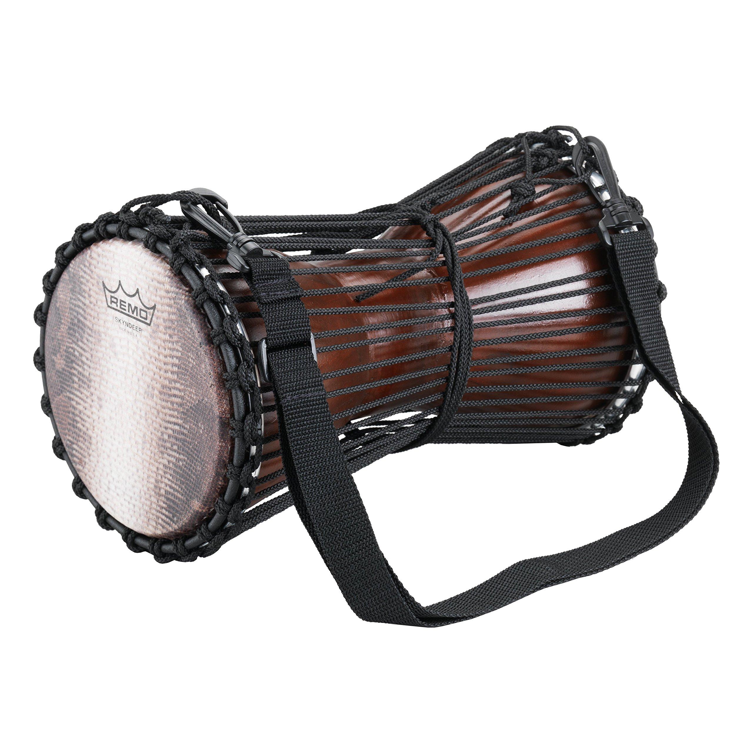 Remo Tamani Talking Drum 6 x 11 in. Antique