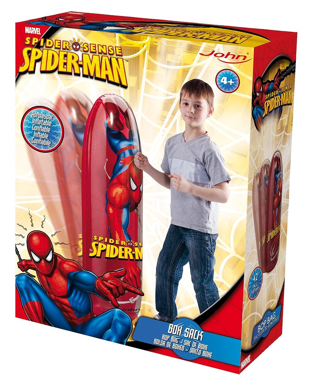 John 56206 - Bolsa de Boxeo Hinchable diseño Spider-Man: Amazon.es ...