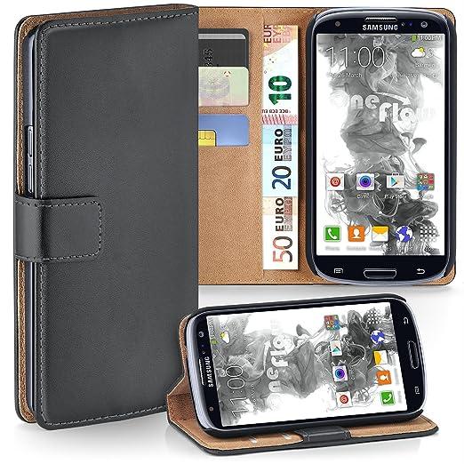 2 opinioni per OneFlow PREMIUM- Book-Style Custodia con design portamonete e funzione stand per