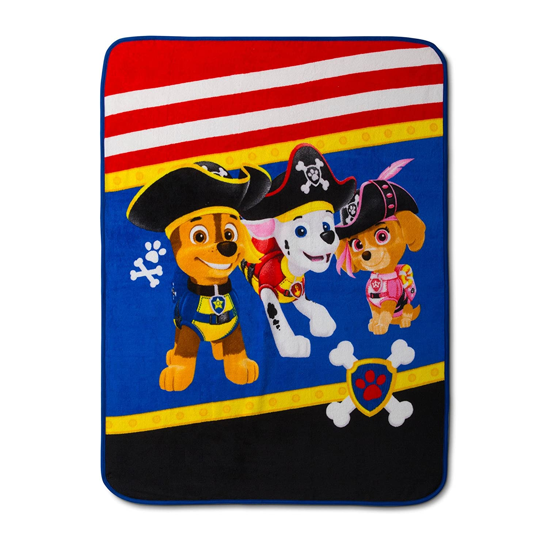 Paw Patrol Pirate Pups Throw Blanket (46x60) Franco