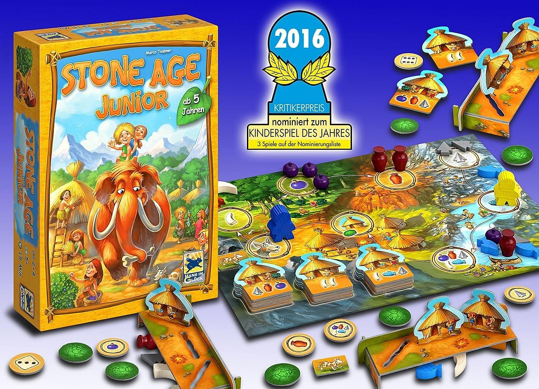 #Juegodemesa Stone Age Junior por sólo 14,99€
