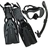 Mares Mares X-Stream Pro Dive Mask Fin Snorkel Set