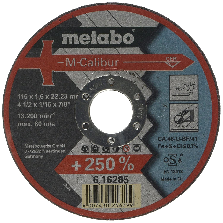 Metabo 616285000 M-Calibur Disc 115 x 1.6 x 22.23 mm Green