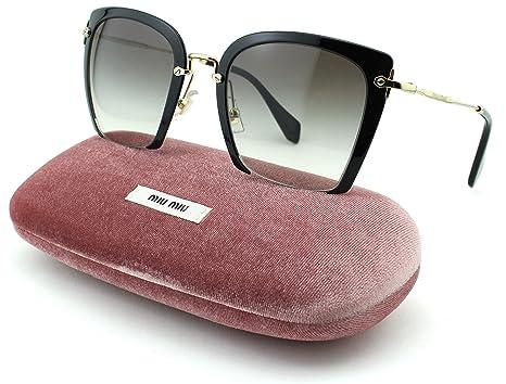 322fc92447e Miu Miu 01OV Stardust Women Reqtangular Eyeglasses (Medium Havana Frame  UBR 1O1