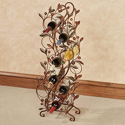 Touch of Class Catalonia Floor Wine Rack Brown